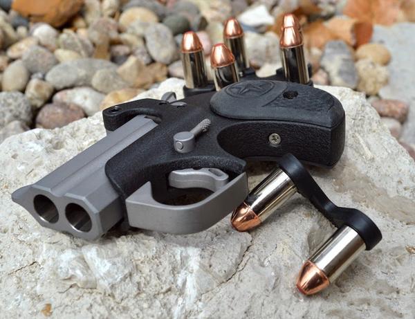 """图片中的手枪叫做:""""德林杰手枪"""