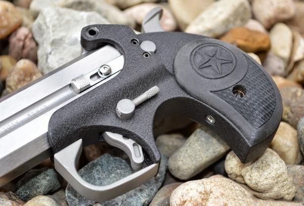 一支11.8mm口径的德林杰手枪