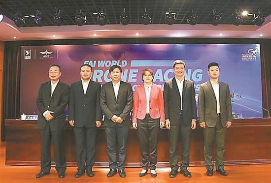 首届世界无人机锦标赛 11月1日于深圳拉开战幕