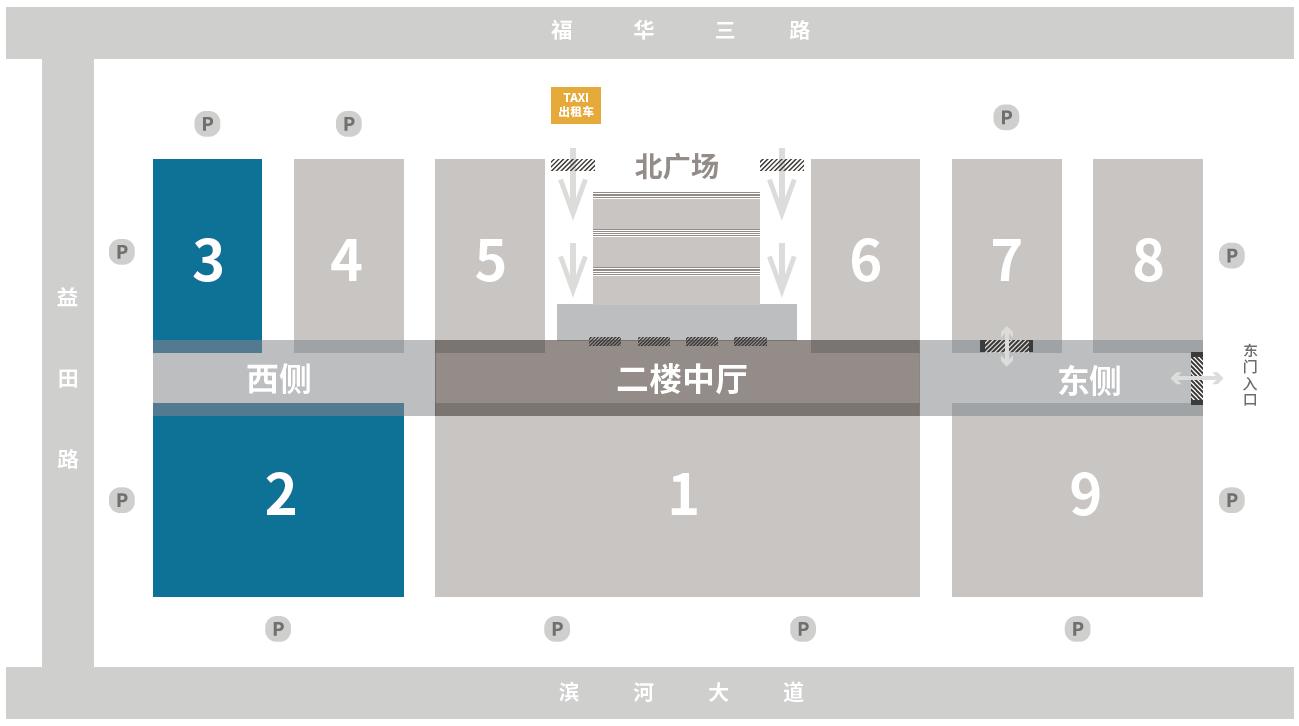 展馆平面图